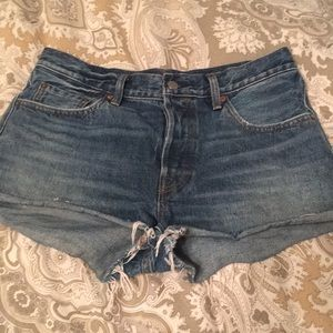 Levi 501 Cutoffs Denim Shorts